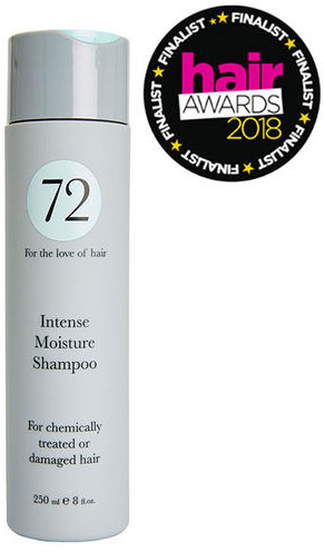 72 Hair Intense Moisturising Shampoo 250ml